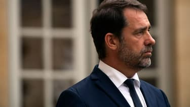 Christophe Castaner, le 30 juillet 2019 à l'Elysée