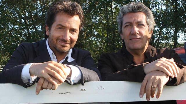 Edouard Baer et Alain Chabat dans Turf de Fabien Onteniente