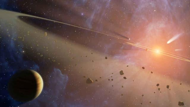 L'Epsilon Eridani fait partie des étoiles naines prochainement baptisée grâce aux votes.