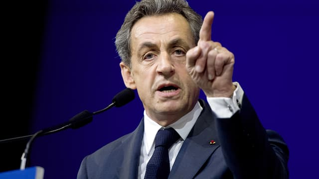 Nicolas Sarkozy le 7 février 2015 à Paris.
