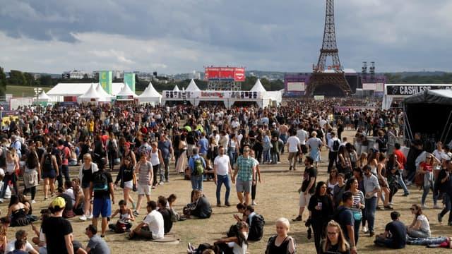 Samedi 22 juillet 2017, lors de la première édition du festival Lollapalooza, à Paris