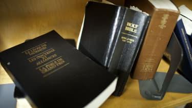 """Le fondateur de l'Eglise mormone, Joseph Smith, affirme avoir eu pour tâche de restaurer l'église des origines avec l'aide du """"Livre de Mormon""""."""