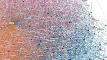 Le réseau social Linkedin a analysé sur un an les flux migratoires internationaux de ses membres.