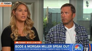 Bode Miller et sa femme témoignent après la mort de leur fille par noyade, le 30 juillet 2018 sur NBC.