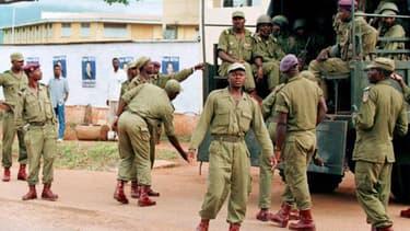 Des troupes de l'armée camerounaise à Yaoundé (Photo d'illustration)