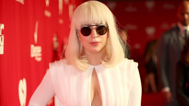 Lady Gaga en janvier 2014