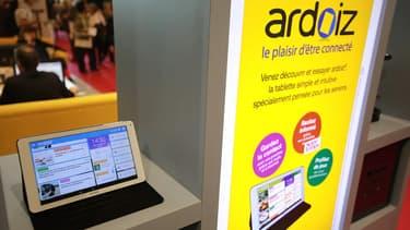 La tablette Ardoiz de La Poste.