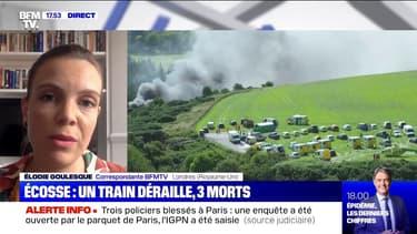 Écosse: trois morts et six blessés dans le déraillement d'un train, selon la police des transports