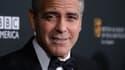 George Clooney en novembre 2013, lors des Bafta à Beverly Hills.