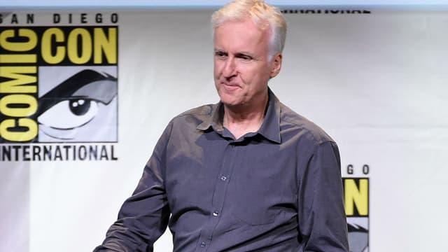 James Cameron lors du Comic Con à San Diego en 2016