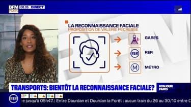 Transports: la reconnaissance faciale pour lutter contre l'insécurité?