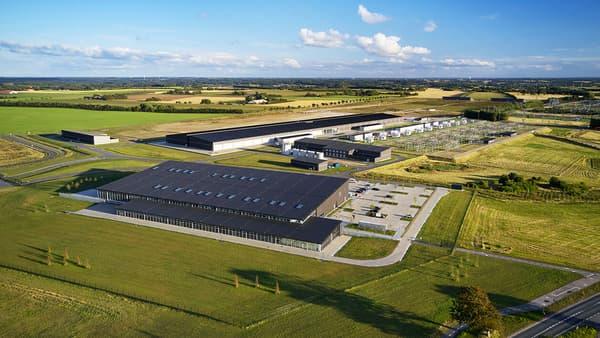 Ces éoliennes seront utilisées pour fournir en électricité le centre de données de Viborg