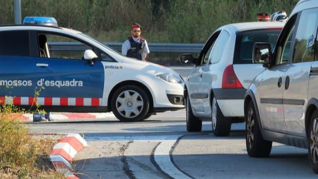 Une voiture de police espagnole. (Photo d'illustration)