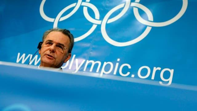 Le président du CIO se veut optimiste quant à la candidature d'Annecy 2018