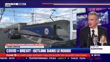 Yann Leriche (Getlink) : Covid + Brexit, Getlink dans le rouge - 25/02