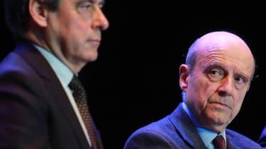 François Fillon et Alain Juppé, deux anciens chefs du gouvernement, ont mené lundi soir un meeting en commun, à Pessac, en banlieue bordelaise.