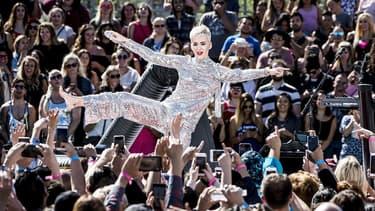 Katy Perry à Los Angeles, le 12 juin 2017.