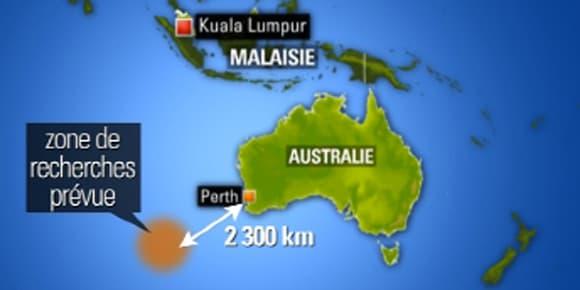 Les débris ont été détectés près des côtes australiennes.