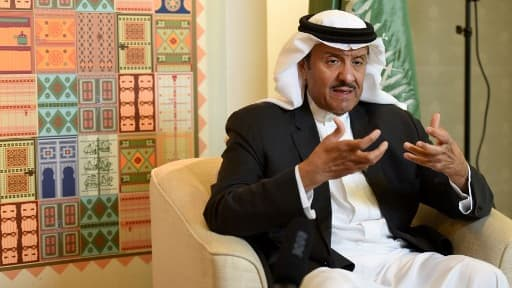 Le prince sultan ben Salmane ben Abdelaziz Al Saoud, le 18 décembre 2017