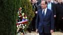 François Hollande à Jarnac, en 2012.