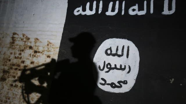 Un drapeau de Daesh - Image d'illustration