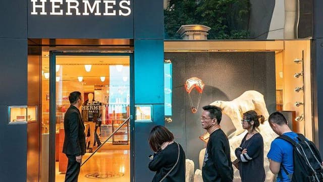Portés par l'Asie, les résultats d'Hermès dépassent les attentes