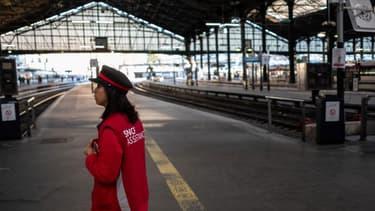 Le nombre de grévistes à la SNCF a augmenté. (image d'illustration)