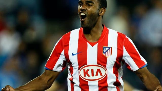 Sinama-Pongolle lors de son passage à l'Atletico Madrid