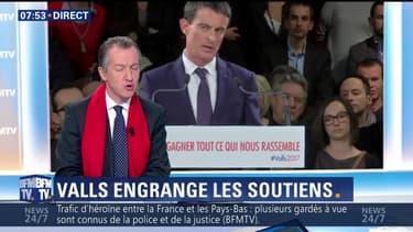 L'édito de Christophe Barbier: Manuel Valls est-il en train de gagner la bataille des soutiens ?