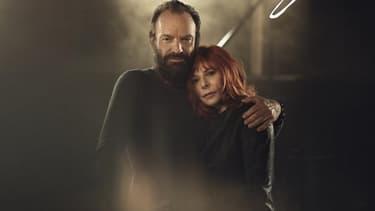 Le dernier album de Mylène Farmer comprenait un duo avec Sting