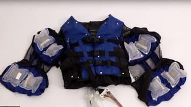 La veste Disney est composée de 26 airbags