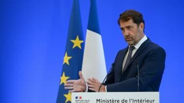 Le ministre de l'Intérieur Christophe Castaner lors d'une conférence de presse, le 8 juin 2020 à Paris