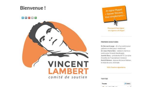 Des amis d'enfance de VIncent Lambert ont lancé un comité de soutien.