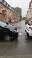 Abbeville frappée par un gros orage dans la Somme - Témoins BFMTV