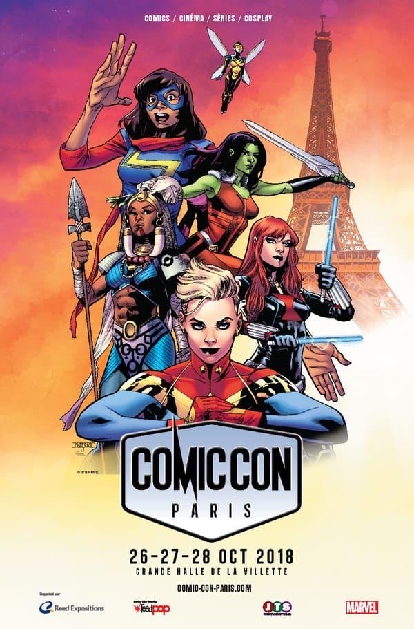 Affiche du Comic Con de Paris 2018