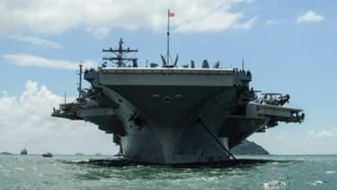 Le porte-avions américain Ronald Reagan