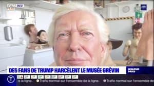 Le musée Grévin harcelé par les fans de Donal Trump qui souhaitent acheter la statue de l'ancien président