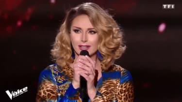"Leona Winter dans ""The Voice"""