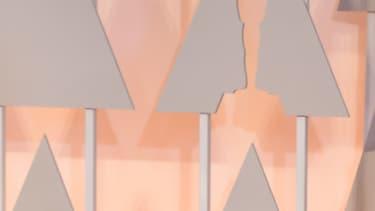 Meryl Steep lors du photocall de la 87e cérémonie des Oscars.