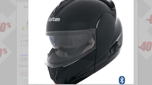"""Sur le site du fabricant, le casque """"Dexter"""" a été rebaptisé """"Président""""."""