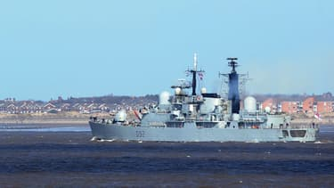 Navire de la Royal Navy (illustration)
