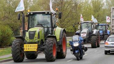 1.500 tracteurs devraient envahir Paris