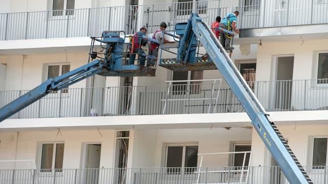 Seulement 73.468 logements ont été construits entre mai et juillet.