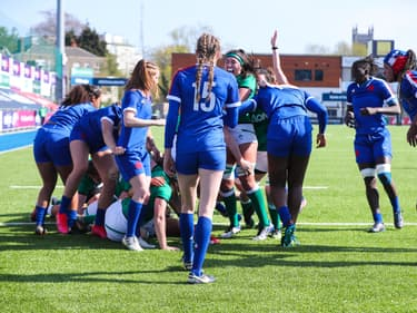 XV Féminin face à l'Irlande