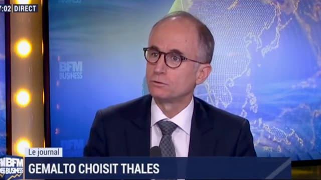 Philippe Vallée, directeur général de Gemalto.