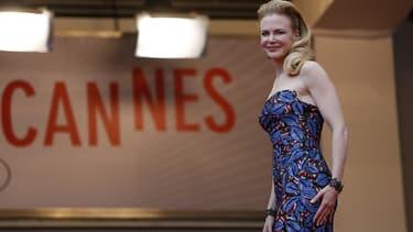 Nicole Kidman au Festival de Cannes en mai 2013