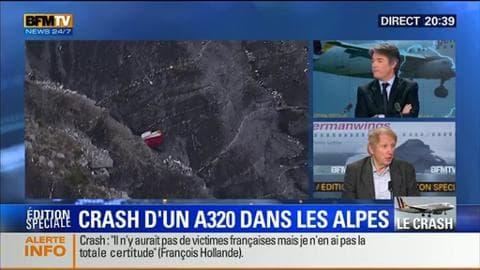 """Édition spéciale """"Crash d'un A320 dans les Alpes"""" (3/3): une trentaine de vols a été annulée par la compagnie Germanwings"""