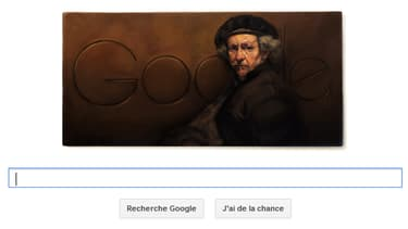 Un autoportrait de Rembrandt pour les 407 ans de sa naissance.