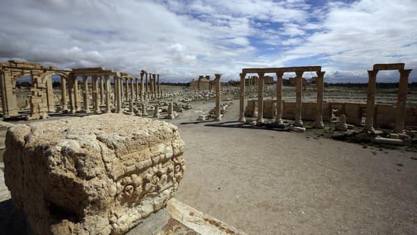 La cité antique de Palmyre, en Syrie.