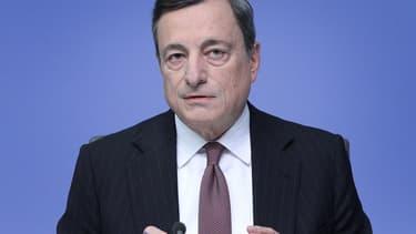 Mario Draghi vante l'activité de la BCE.
